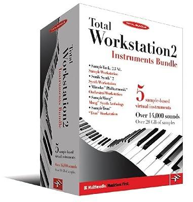 IK Mulitmedia Total Workstation 2-Instruments Bundle by IK Multimedia