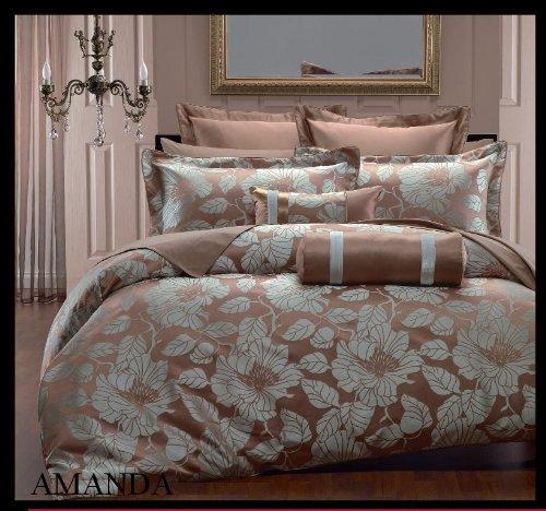 king cal king 7 pc amanda duvet cover set by hotel collection king duvet covers. Black Bedroom Furniture Sets. Home Design Ideas