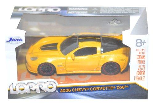 Jada Lopro - 2006 Chevy Corvette Z06 Scale 1:64 - Yellow - 1