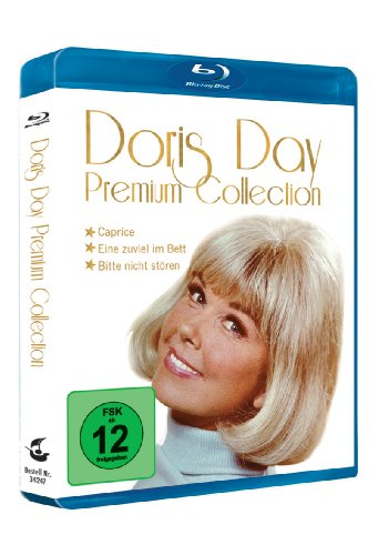 Doris Day Premium Collection mit Prägedruck - 3 Filme auf 3 Blu ray [Blu-ray]