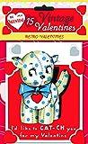15 Vintage Valentines: Retro Valentines: 15 Die-Cut Cards in Bag with Decorated Envelopes (Valentine's Day)
