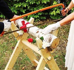 Hochzeitsideen-Hochzeits-Baumstamm-sgen-als-Komplett-Set-inkl-Sge-Bock-Bgelsge-Stamm-aus-Holz-Handschuhe