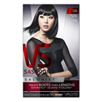 Vidal Sassoon Salonist Hair Colour Permanent Color 1/0 Neutral Black Kit