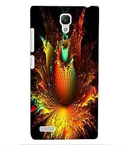 ColourCraft Abstract Design Back Case Cover for XIAOMI REDMI NOTE 4G