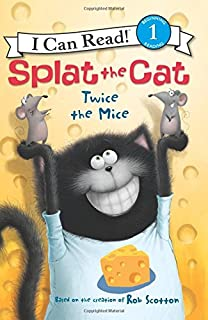 Book Cover: Splat the Cat: Twice the Mice