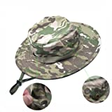 Bluecell Tactical Head Wear/Boonie Hat Cap For Wargame,Sports,Fishing &Outdoor Activties (Multi Cam)