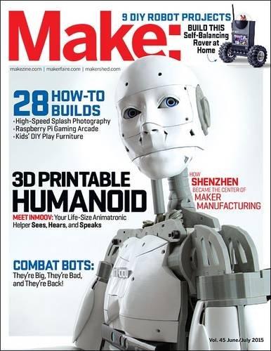 Make: Volume 45: Robot Workshop