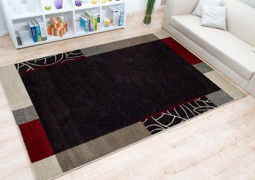 Moderner Teppich Ohio Bordüre