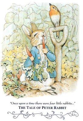 Beatrix Potter Tale Peter Rabbit Art Print POSTER cute - 11x17