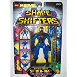 Toy Biz Marvel Comics Spider-man The Animated Series Shape Shifters Spider-Sense Spider-Man Transforms Into Spider...