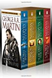 img - for A Song of Ice and Fire, Books 1-4 (A Game of Thrones / A Feast for Crows / A Storm of Swords / Clash of Kings) book / textbook / text book