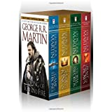 A Song of Ice and Fire, (4 Vols.): A Game of Thrones / A Clash of Kings / A Storm of Swords / A Feast for Crows ~ George R. R. Martin