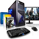 "Komplett-PC Gaming-PC Six-Core AMD FX-6300 6x3.5GHz (Turbo bis 4.1GHz) • 22"" LED Bildschirm • Tastatur/Maus • Windows 7 64bit • GeForce GTX960 • 1TB HDD • 8GB RAM • PC Spiel Watch Dogs"
