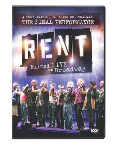Rent: Filmed Live on Broadway [DVD] [Import]