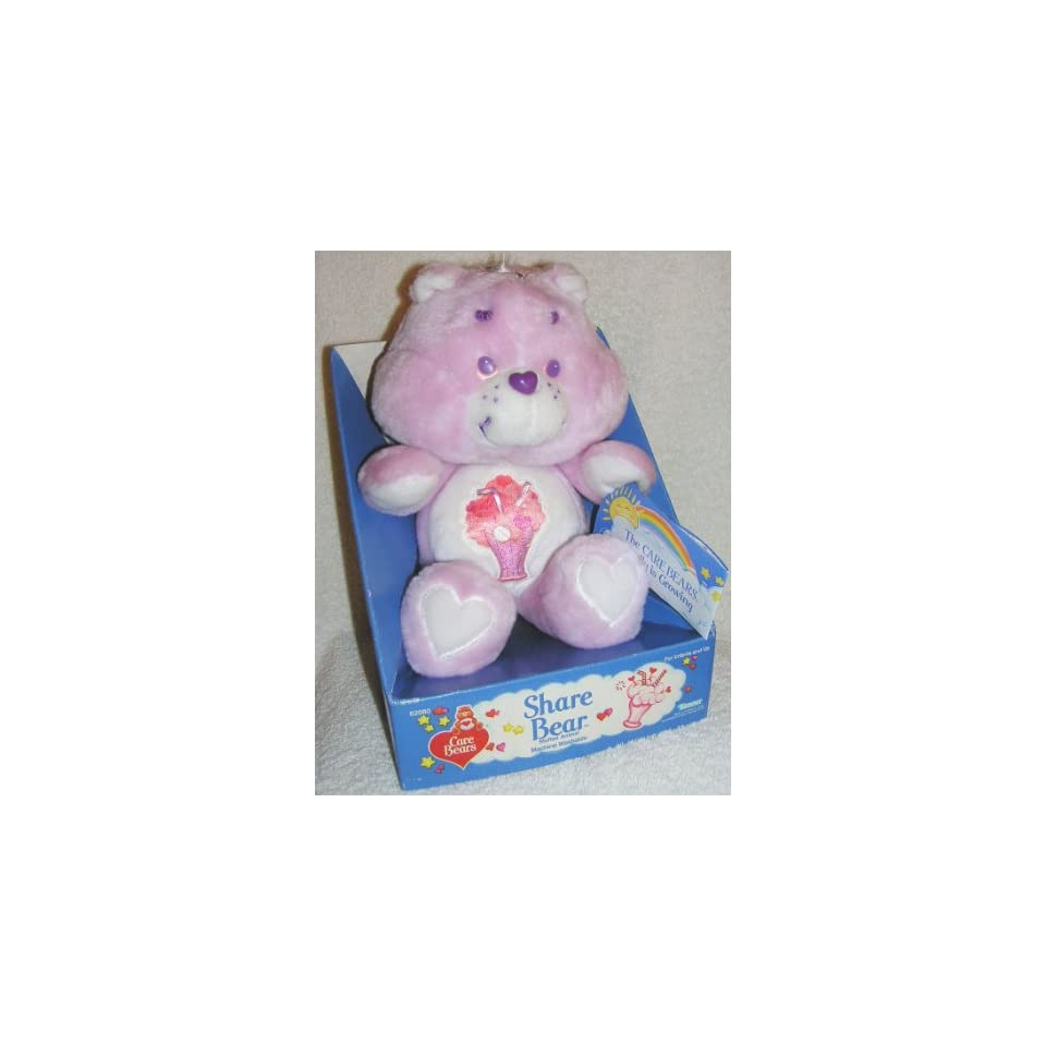 Vintage Care Bears Plush 13 Share Bear from 1985