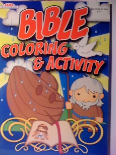 Bible Coloring & Activity Book (Cover Art Varies) - 1