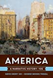 img - for America: A Narrative History (Tenth Edition) (Vol. One-Volume) book / textbook / text book