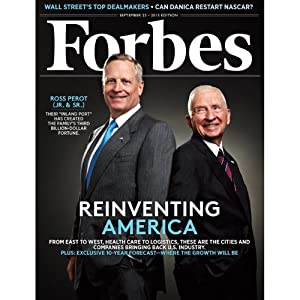 Forbes, September 9, 2013 Periodical