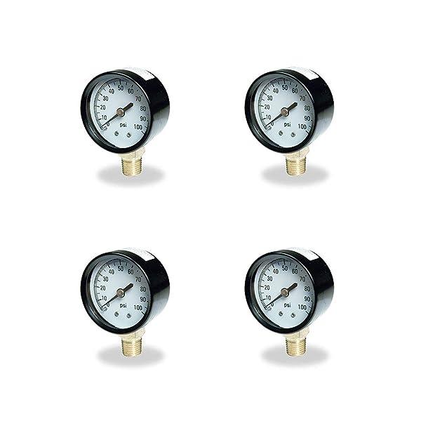 Flotec Brands2O TC2104 P2 Well Water Pump Pressure Tank Control Gauge (4 Pack) (Tamaño: 4 Pack)
