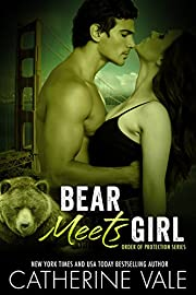 Bear Meets Girl (BBW Paranormal Shapeshifter Werebear Romance) (Order Of Protection Series)