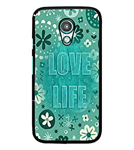 PrintDhaba Quote D-3683 Back Case Cover for MOTOROLA MOTO G2 (Multi-Coloured)