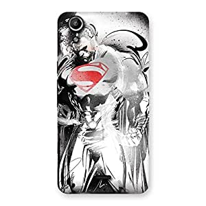 Cute Steel Power Multicolor Back Case Cover for Micromax Canvas Selfie Lens Q345