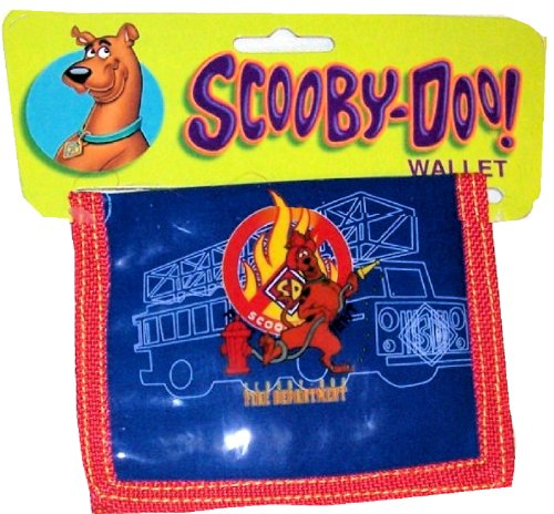 Scooby Doo Bi-Fold Wallet - Fire Department