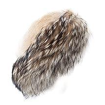 Mitchies Beaver Hat with Finn Raccoon Fur Womens