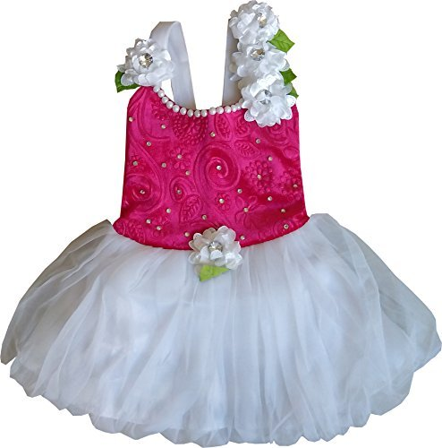 Cute Fashion Kids Girls Baby Princess Party Flower Dresses Skirt Clothes 2 -3 Years