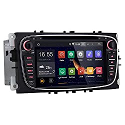 See Rupse For Ford Mondeo S-max Focus Galaxy 7 inch Android 4.4 2 Din Car DVD Player GPS Navigation 1024*600 AM/FM Radio SD USB DVR 1080P OBD2 3G Wifi (OEM Factory Style,Free Maps) Details