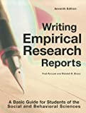9781884585975: Writing Empirical Research Reports: A Basic Guide for Students of the Social and Behavioral Sciences