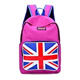 Crazy Genie Fashion Men and Women Canvas Backpack/School Bag/Backpack, Campus Backpack Rucksack Shoulder Bag (Style2)