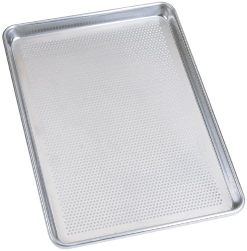 Sil-Eco E-95126-P Perforated Baking Pan, Half Sheet Size, 13-Inch x 18-Inch