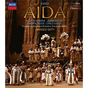 Verdi Aida Blu-ray 2011 by Decca