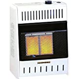 ProCom Vent-Free Dual Fuel Infrared Radiant Wall Heater - 2-Plaque, 10,000 BTU