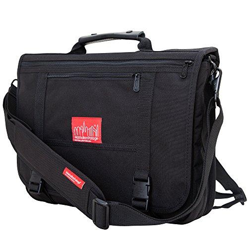 Manhattan Portage Wallstreeter W Back Zipper, Black, One Size Manhattan Portage Nylon Backpack