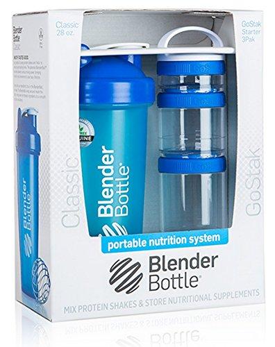 Blender Bottle Combo (Royal Blue)