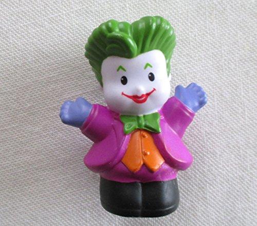 Fisher Price Little People DC Comics Play Sets Superhero Villian Batman The JOKER Figure Clown 2011 - 1