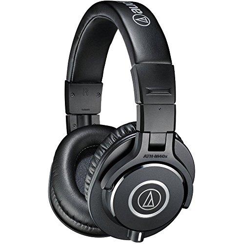 NEW Audio-Technica ATH-M40x Professional Studio Monitor Wired Headphones (Audio Engine Studio Monitors compare prices)