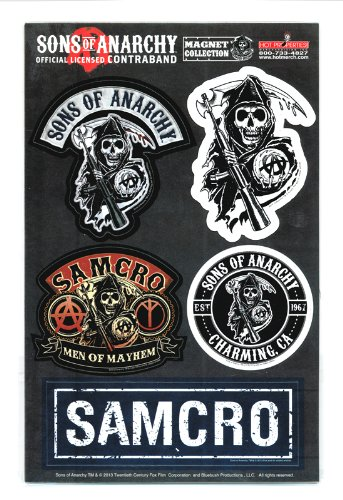 Sons Of Anarchy Magnet Collection