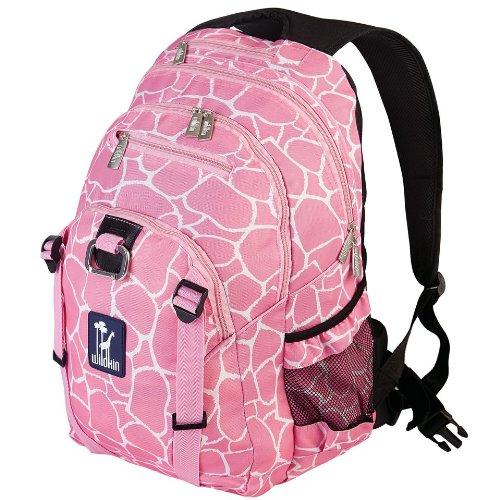 Wildkin Giraffe Serious Backpack, Pink, One Size (Giraffe Garment Bag compare prices)