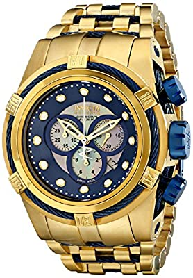 Invicta Men's 12742 Bolt Analog Display Swiss Quartz Gold Watch
