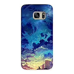 Cloud Art Back Case Cover for Galaxy S7
