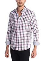 SIR RAYMOND TAILOR Camisa Hombre (Púrpura / Rosa)