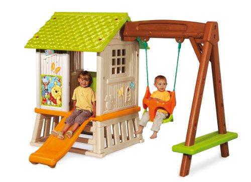 Comment choisir une portique avec toboggan meilleur loisir - Cabane jardin bebe rouen ...