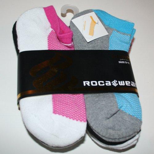 Rocawear Women's/Girl's Low Cut Socks 6 Pair - Size: 9-11 Multi