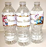 Sheriff Callie Wild West Inspired Water Bottle Wraps for Birthday Party Supplies