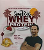 Jay Robb Whey Protein Powder Strawberry -- 12 Packets