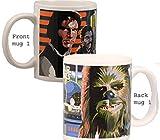 Original Star Wars Mug Gift Set of 2 Collectible New in Box!