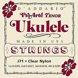 D'Addario J71 Pro-Arte Ukulele Strings, Tenor